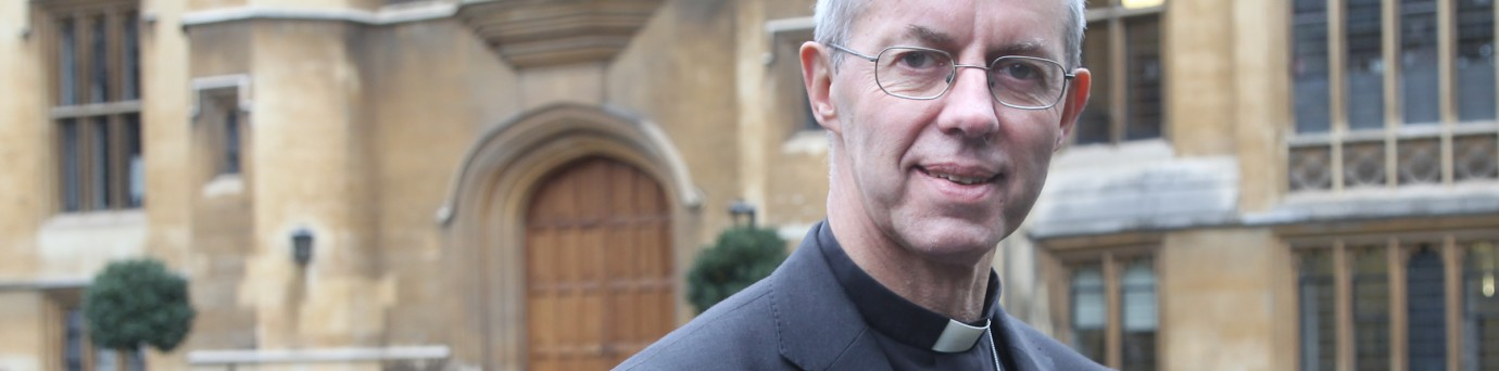 The appointment of the 105th Archbishop of Canterbury was announced at Lambeth Palace of the Right Reverend Justin Welby, today.